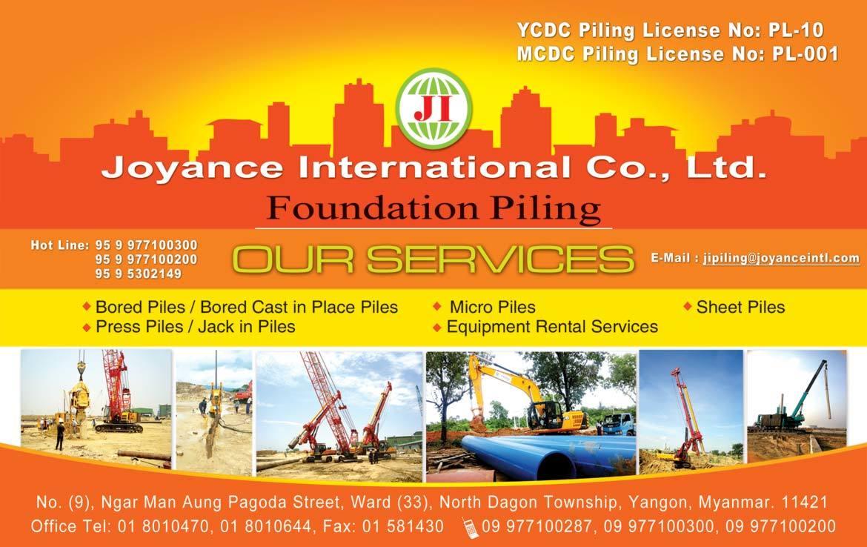 Joyance international co ltd myanmar builders guide for Portent international co ltd